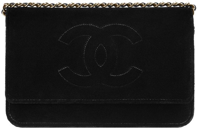 Chanel-Wallet-On-Chain-In-Velvet-Collection