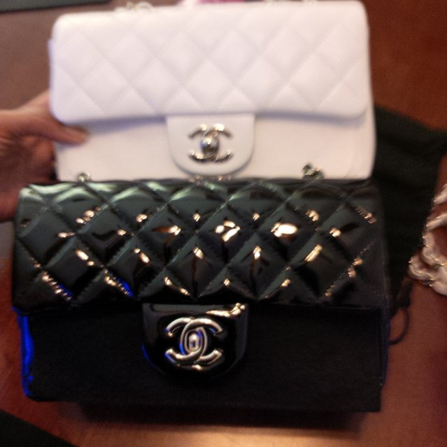 Chanel mini classic flap bag vintage beige mini and fame bragmybag - 639px