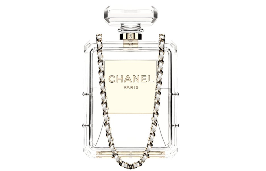 Chanel Perfume Clutch From Cruise 2014 Collection
