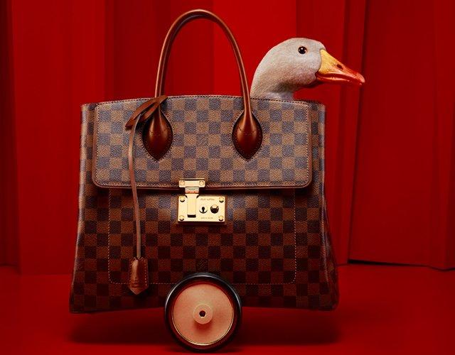 Louis Vuitton A Festive Holiday Collection  The Goose Game – Bragmybag 251eb3a57b929