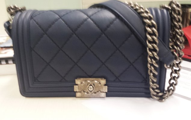 Chanel Boy Quilted Flap Bag At Printemps | Bragmybag : chanel bags quilted - Adamdwight.com