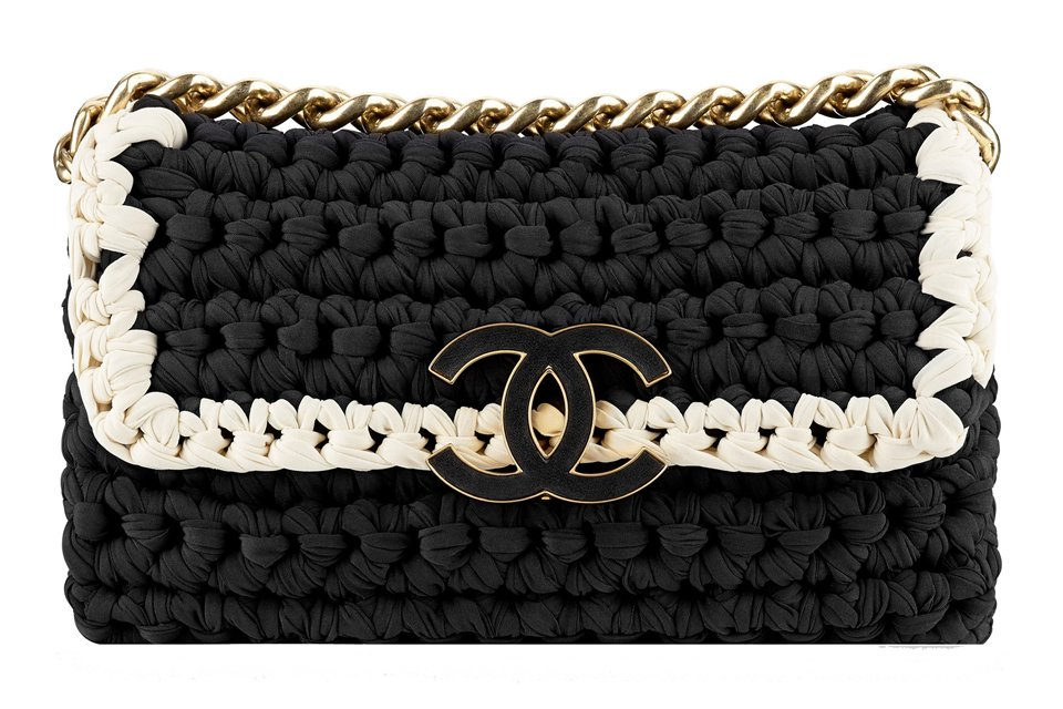 Crochet Fancy Bags : chanel fancy crochet bag december 5 2013 bags chanel garls