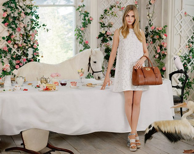 Cara-Delevingne-x-Mulberry-SS2014-Collection-2