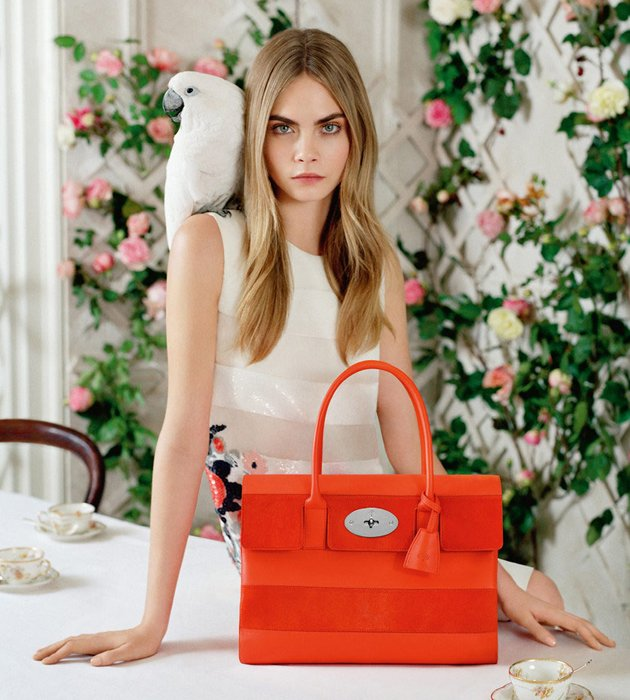 Cara-Delevingne-x-Mulberry-SS2014-Collection-4