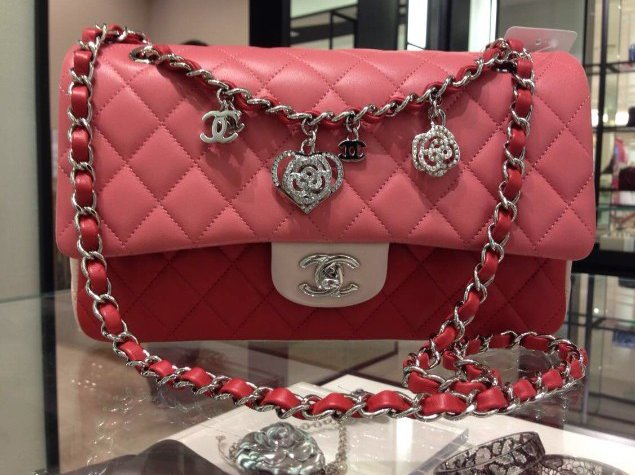 CHANEL Valentine 2014 Flap Bag