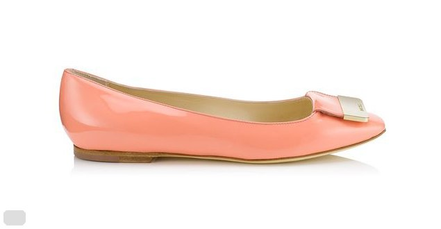 Jimmy Choo Harlow Flat Pumps