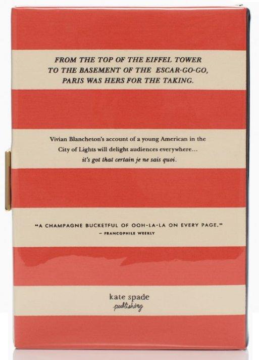 Kate Spade Paris And The Single Girl Book Clutch Bragmybag