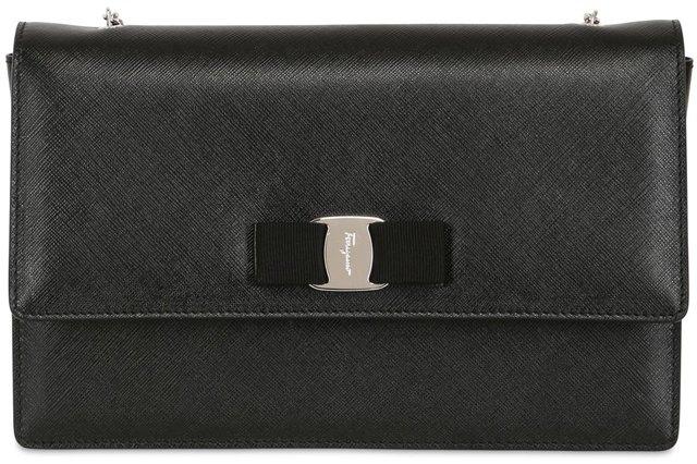 Salvatore Ferragamo Ginny Shoulder Bags – Bragmybag 2c1d42e2e9664