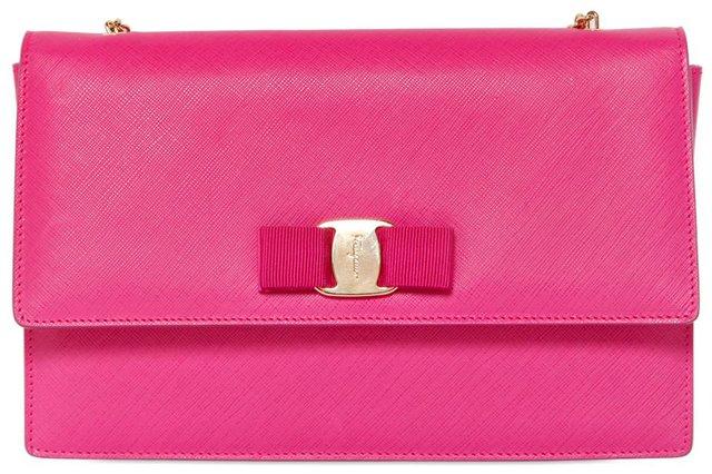 Salvatore Ferragamo Ginny Shoulder Bags | Bragmybag Chanel Flap Bag 2014