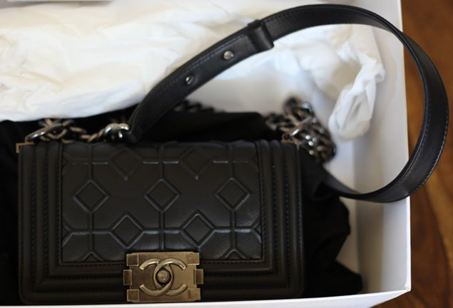 48a147fc53c64e boy CHANEL Arabesque Flap Bag | Bragmybag