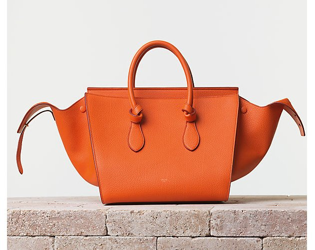 celine-Tie-Handbag-Crisped-Calfskin-Bright-Orange
