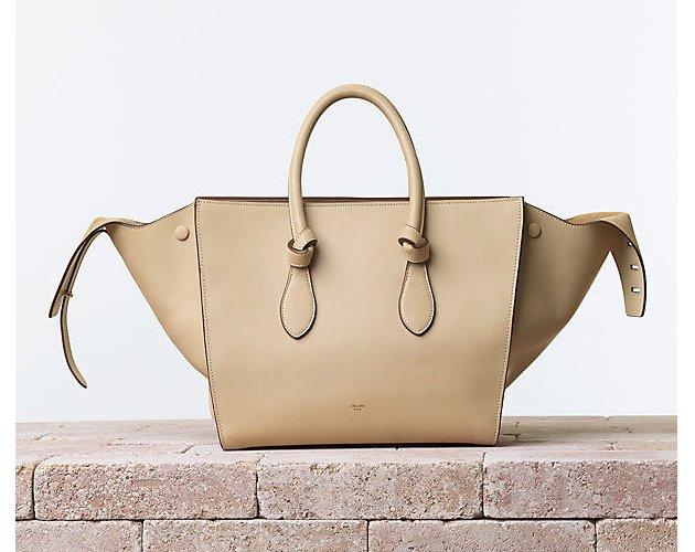 celine-Tie-Handbag-natural-Calfskin-Chamois