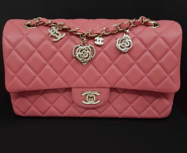 337d5b774e05 CHANEL Dusty Rose Charm Bag | Bragmybag