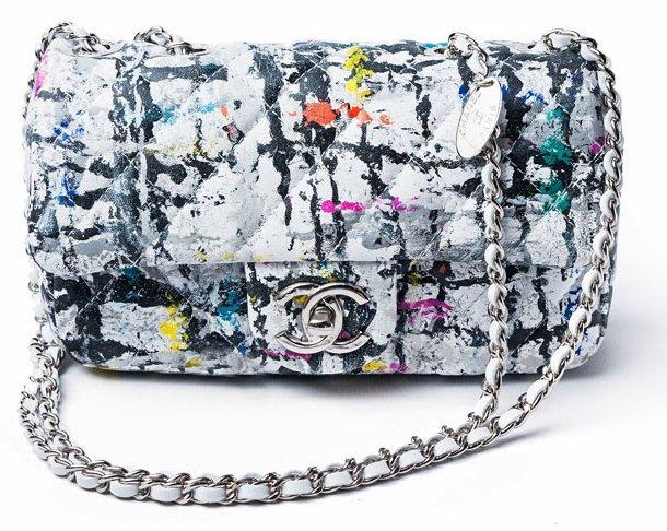Chanel Graffiti Classic Flap Bags Bragmybag