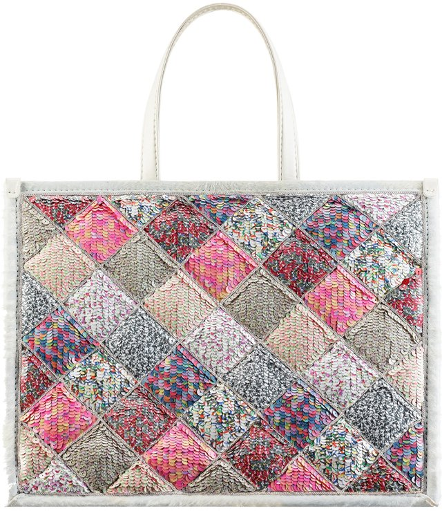Chanel-Large-Calfskin-Tote-Embroidered-with-Multicolored-Sequins