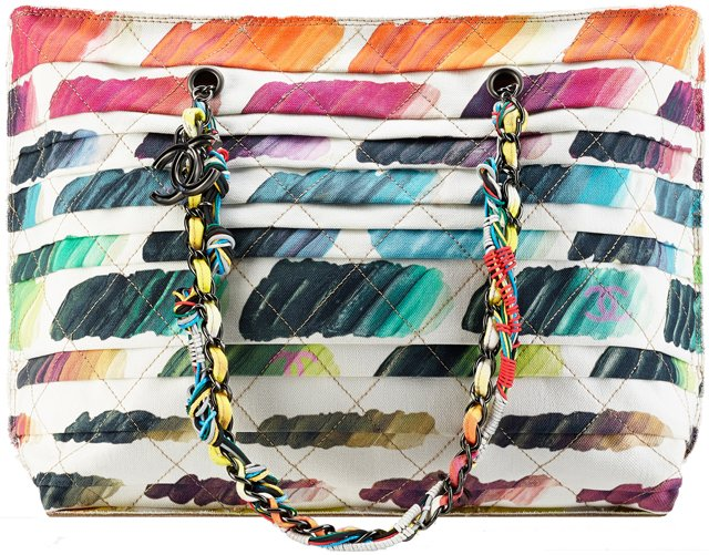 Chanel-Large-tote-with-Colorful-Paint-Palette-Print