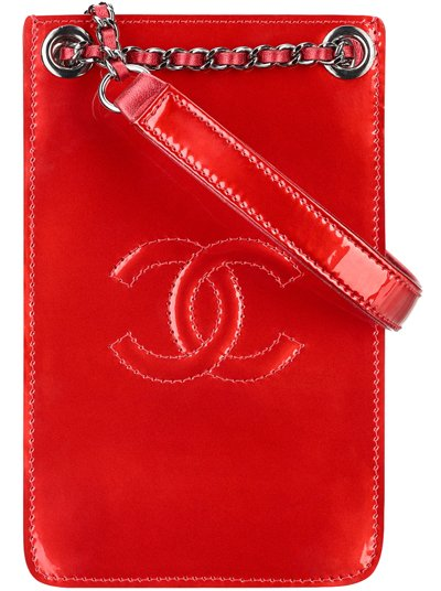 Chanel-Phone-Holder-red