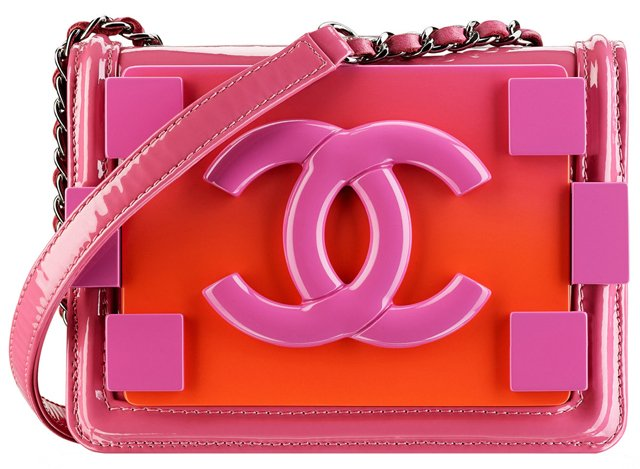 Chanel-Plexiglas-Patent-Calfskin-and-Lambskin-Flap-Bag