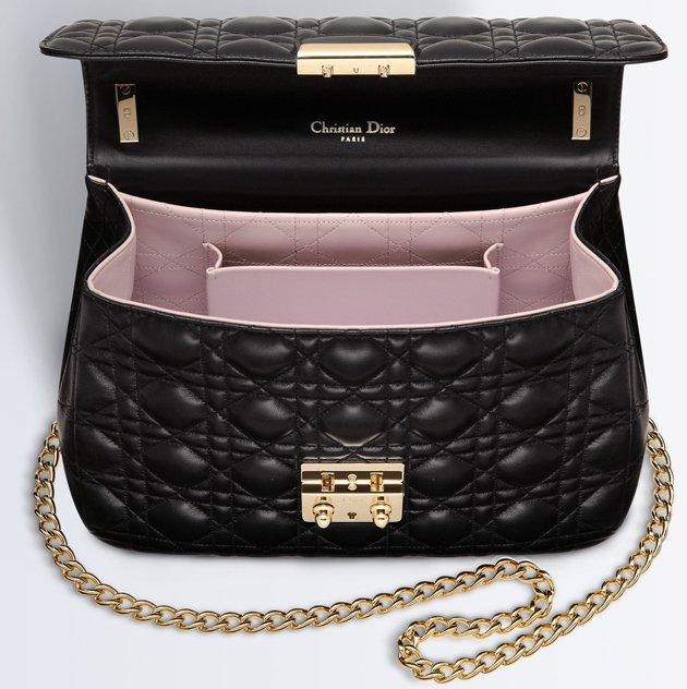 Miss-Dior-Large-Bag-black-lambskin-bag-interior- efd86697f99e2
