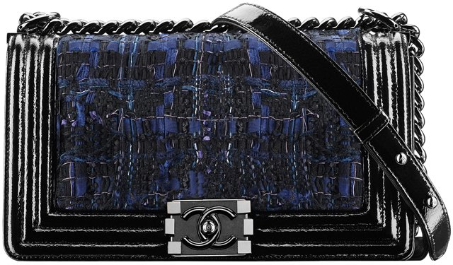 Tweed-and-Partent-Goatskin-Boy-Chanel-Flap-Bag