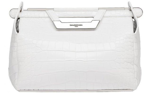 Balenciaga-Ray-Doctor-Bag-croco-white