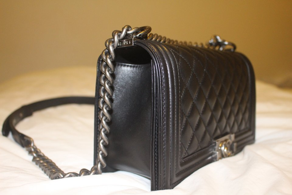 The Journey of the Boy Chanel Quilted Flap Bag in Black | Bragmybag : quilted boy tote chanel - Adamdwight.com