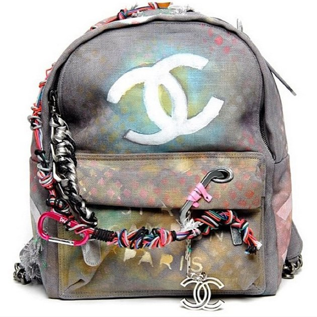 Chanel-Bricolage-Canvas-backpack