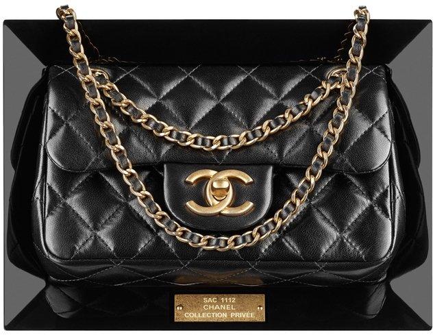 Chanel-CC Frame-flap-bag
