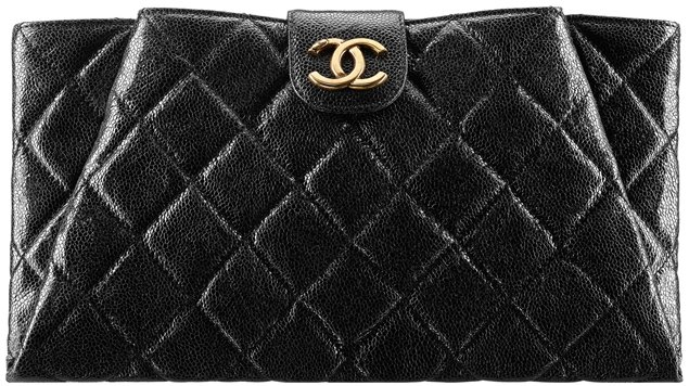 bd4ae3b8bb2d1 Chanel Coco Pleats Clutch Bag
