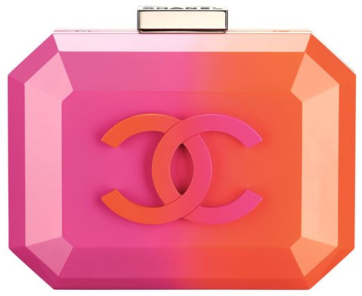 ... Minaudière that carries the name – Chanel Ombre Clutch Bag