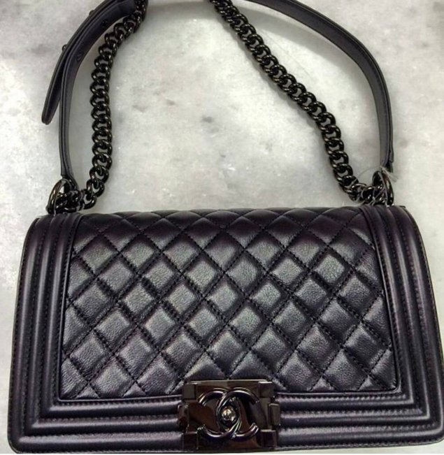 b1bad3f8c235 Chanel Boy So Black Flap Bag | Bragmybag