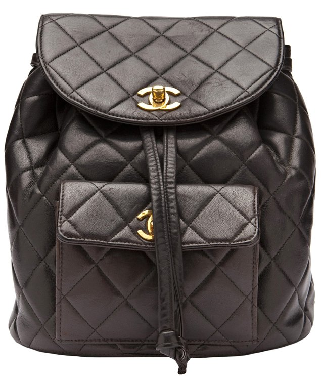 Chanel-vintage-backpack