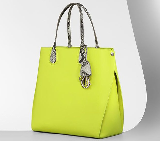 Dior-addicts-shopping-bag-yellow