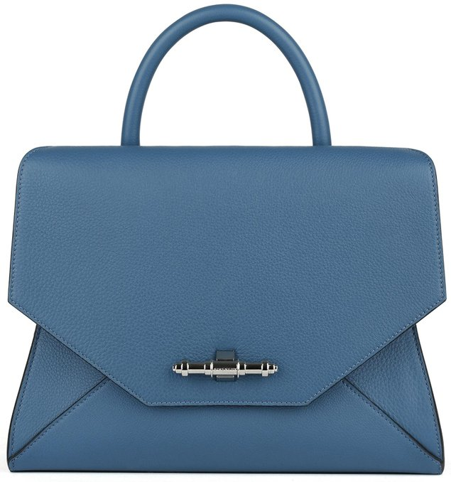Givenchy-Small-blue-grained-leather-New-Obsedia-handbag