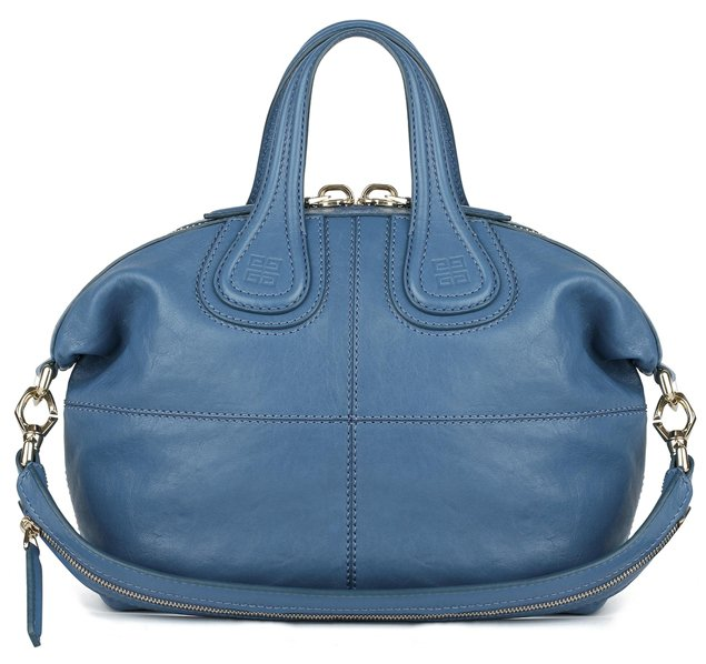 Givenchy-Small-slightly-shiny-blue-leather-Nightingale-bag