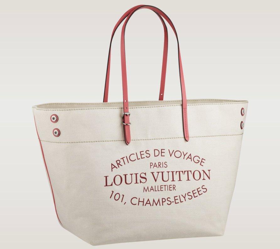 louis vuitton 101 champs elysees paris bag. louis-vuitton-articles-de-voyage-bag-red-2 louis vuitton 101 champs elysees paris bag bragmybag