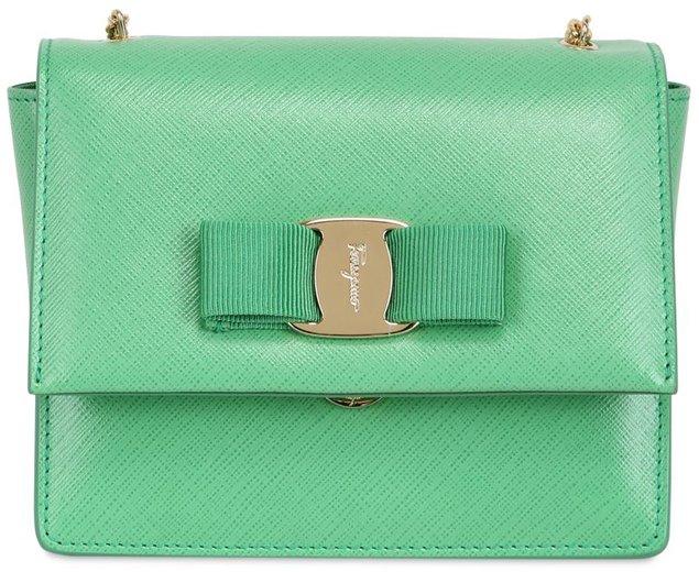 b6296489426 Salvatore-Ferragamo-mini-ginny-shoulder-bag-green