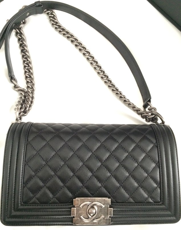Two Iconic Chanel Bags In Europe | Bragmybag : black chanel quilted bag - Adamdwight.com