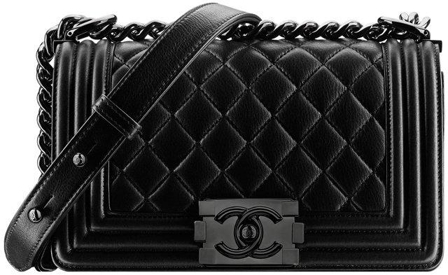 Chanel-Metallic-Calfskin-Boy-Chanel-black