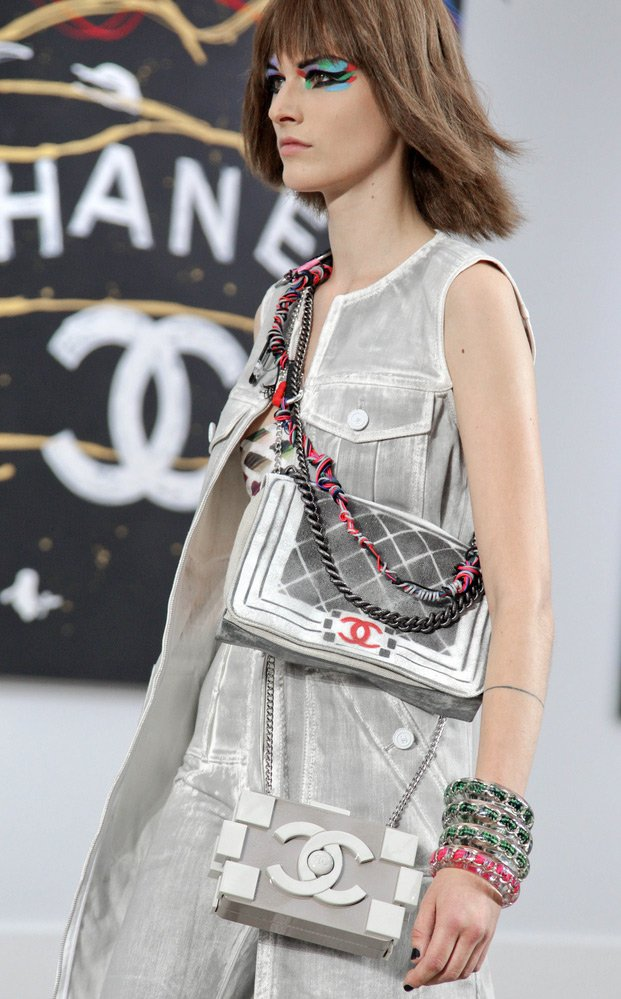 Chanel-Minaudiere-White-With-Long-Chain-2