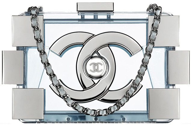 Chanel-Minaudiere-White-With-Long-Chain