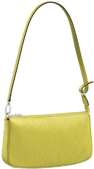 Louis-Vuitton-Pochette-NM-Yellow