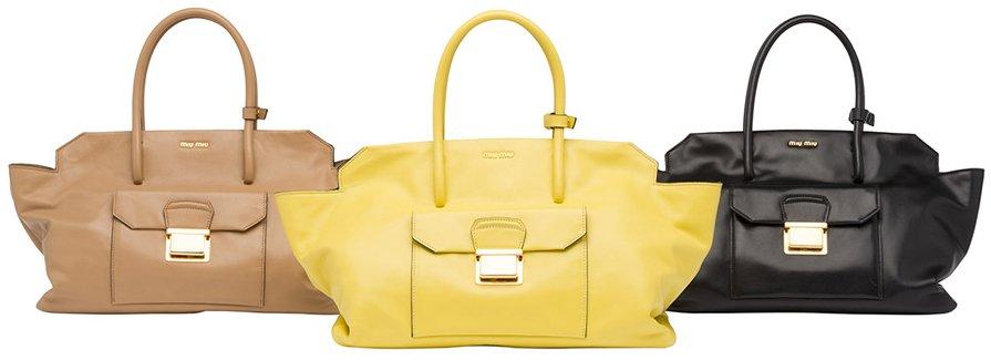 15aa0034f243 Miu Miu Vitello Soft Handbag – Bragmybag
