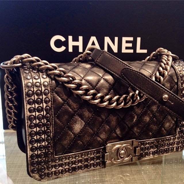 Boy-Chanel-With-Metal-Studs-black