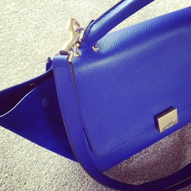 Celine-Trapeze-Bag-Blue