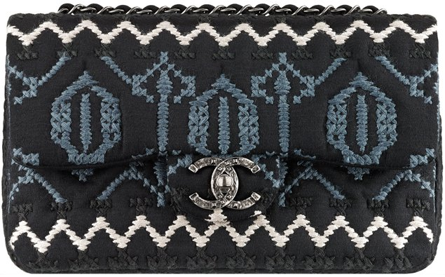 Chanel-Jersey-Flap-Bag-with-Embroideries