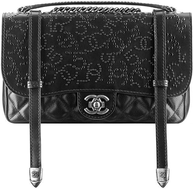 Chanel-Studded-Flap-Bag