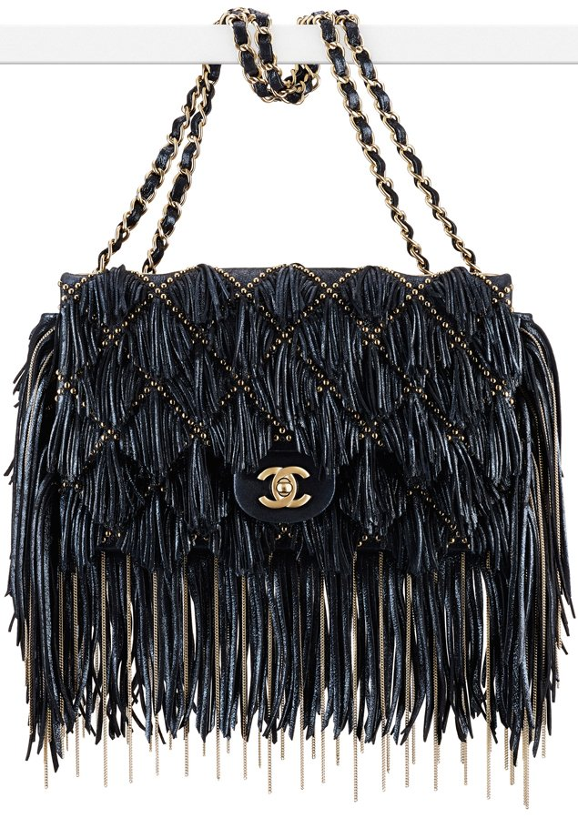 Chanel-Suede-Flap-Bag-with-Fringes