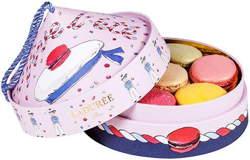 Laduree-Little-Sailor-Summer-Limited-Macaroon-Box