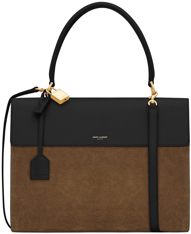 saint-laurent-Moujik-bag-in-black-moss
